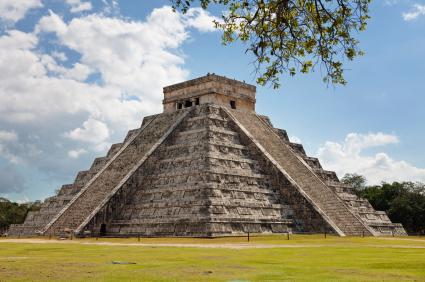 Chichen Itza Kukulkan Pyramide