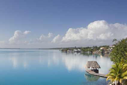Bacalar Lagune, Mexiko