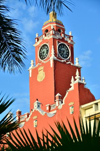 rotes Rathaus in Merida