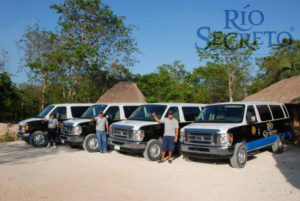 Tour zum Rio Secreto in Mexiko