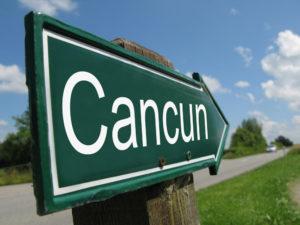 Wegweisser nach Cancún