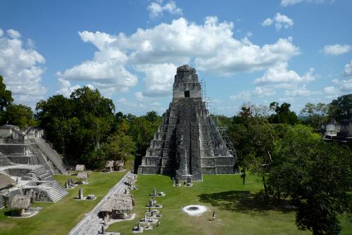 Tikal - Maya Temple